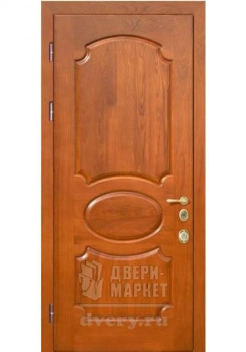Двери-Маркет, Дверь входная металлическая филёнчатая 04 - наружная сторона