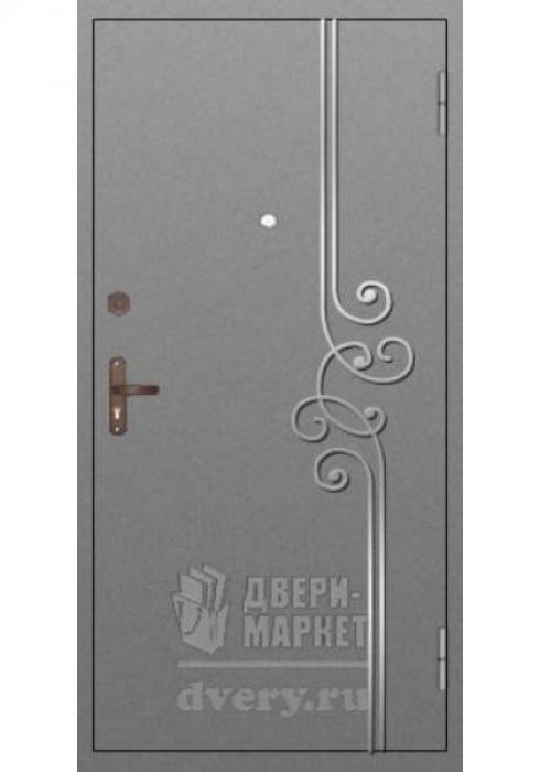 Двери-Маркет, Дверь входная металлическая ковка 05 - наружная сторона