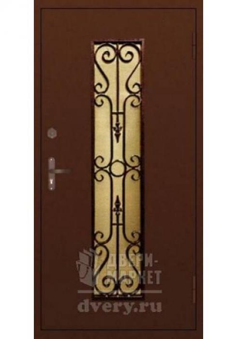Двери-Маркет, Дверь входная металлическая ковка 06 - наружная сторона