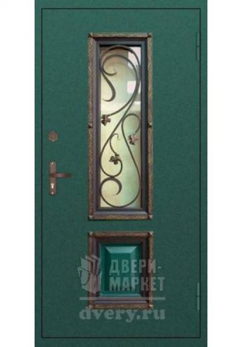 Двери-Маркет, Дверь входная металлическая ковка 07 - наружная сторона