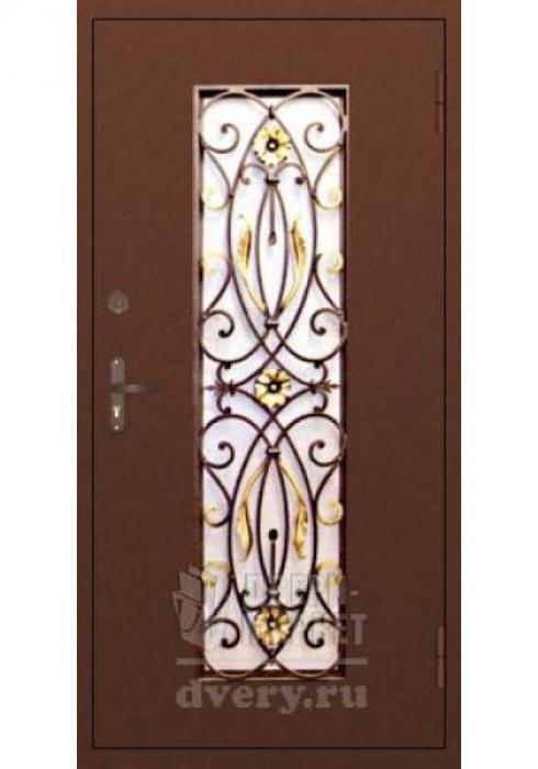 Двери-Маркет, Дверь входная металлическая ковка 09 - наружная сторона