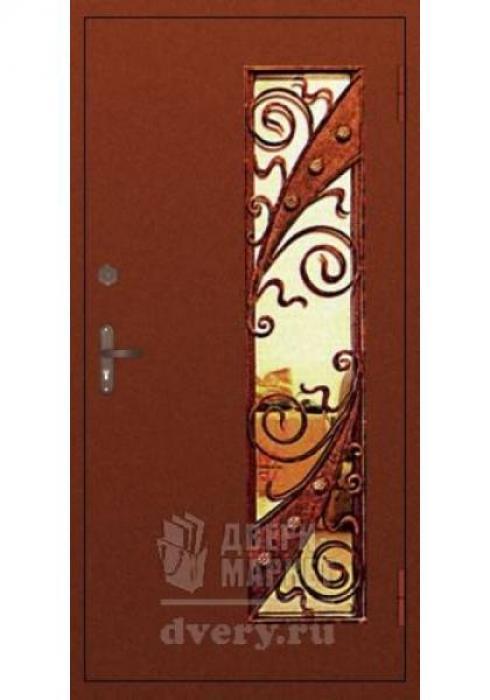 Двери-Маркет, Дверь входная металлическая ковка 10 - наружная сторона