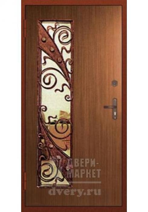 Двери-Маркет, Дверь входная металлическая ковка 10 - внутренняя сторона