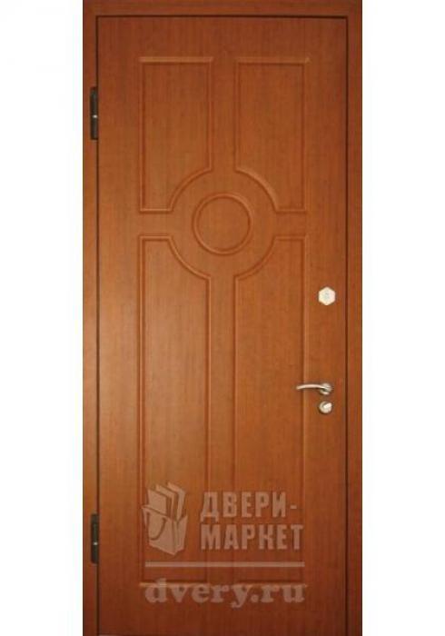 Двери-Маркет, Дверь входная металлическая Кожзаменитель 09 - наружная сторона
