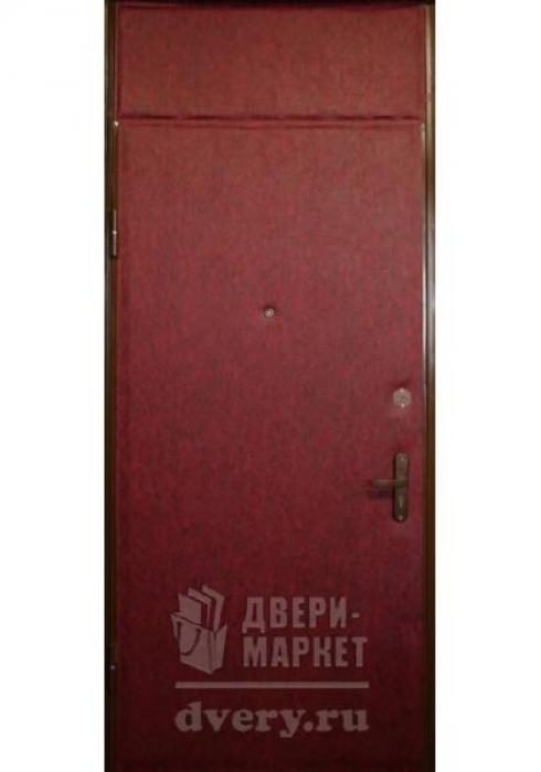 Двери-Маркет, Дверь входная металлическая Кожзаменитель 26 - наружная сторона