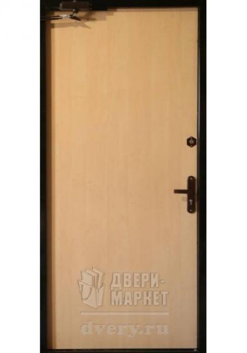Двери-Маркет, Дверь входная металлическая ламинат 17 - внутренняя сторона