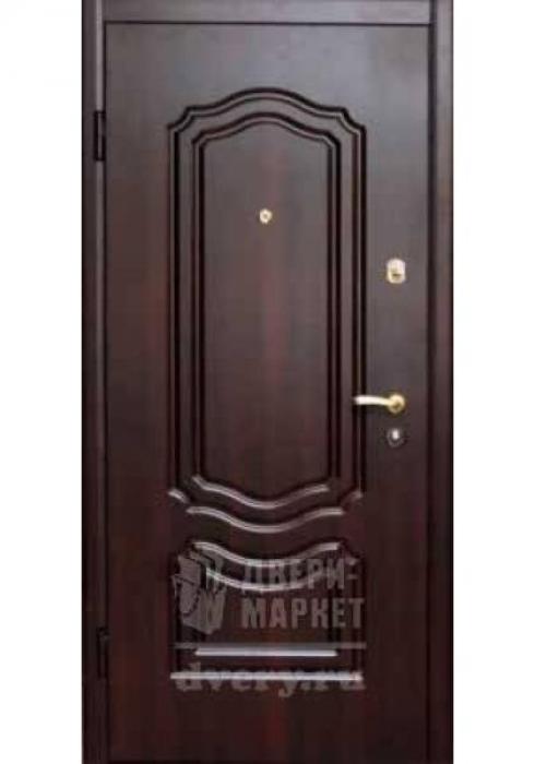 Двери-Маркет, Дверь входная металлическая массив дуба 08 - наружная сторона