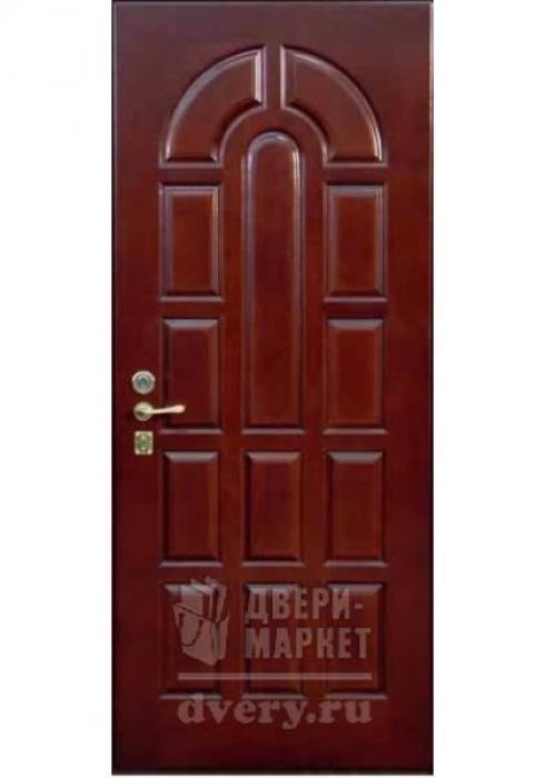 Двери-Маркет, Дверь входная металлическая массив дуба 09 - внутренняя сторона