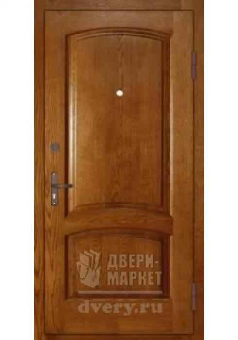 Двери-Маркет, Дверь входная металлическая массив дуба 17