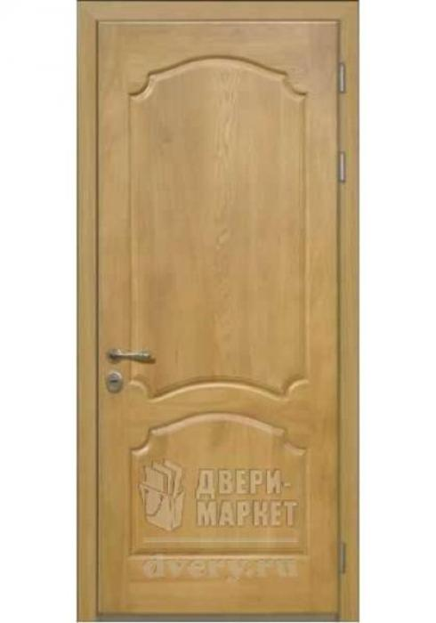 Двери-Маркет, Дверь входная металлическая массив дуба 25