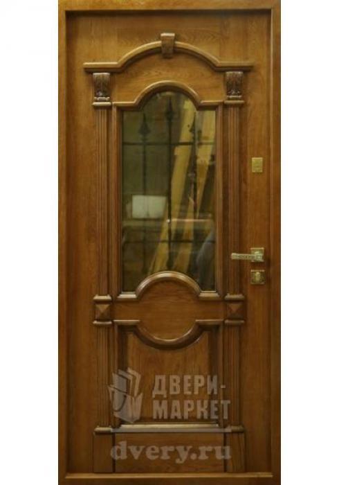 Двери-Маркет, Дверь входная металлическая массив дуба 35 - внутренняя сторона