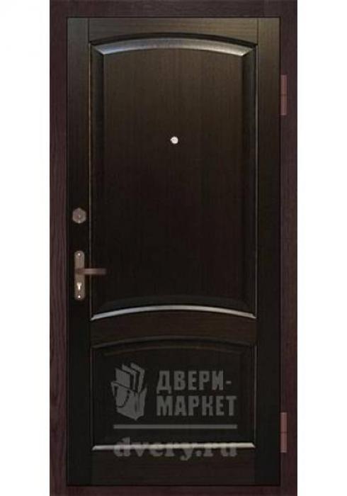 Двери-Маркет, Дверь входная металлическая массив термодерева 10