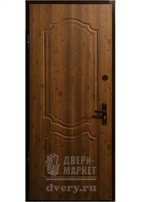 Двери-Маркет, Дверь входная металлическая мдф 04 - наружная сторона