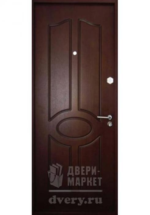 Двери-Маркет, Дверь входная металлическая мдф 11 - внутренняя сторона