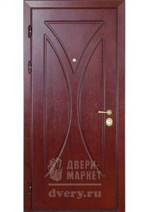 Двери-Маркет, Дверь входная металлическая мдф 16 - наружная сторона