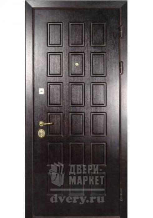 Двери-Маркет, Дверь входная металлическая мдф 25