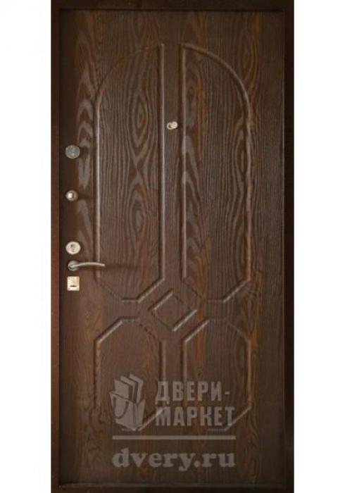Двери-Маркет, Дверь входная металлическая порошковое напыление 53 - внутренняя сторона