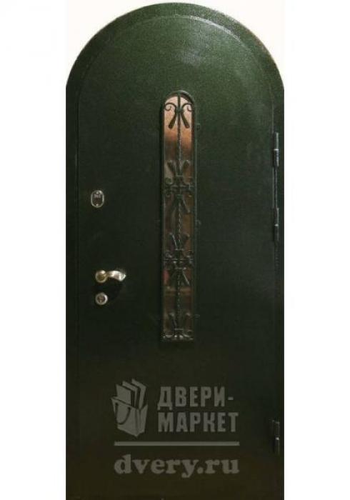 Двери-Маркет, Дверь входная металлическая порошковое напыление 55 - наружная сторона