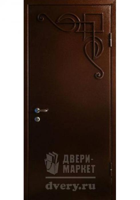 Двери-Маркет, Дверь входная металлическая порошковое напыление 70 - наружная сторона
