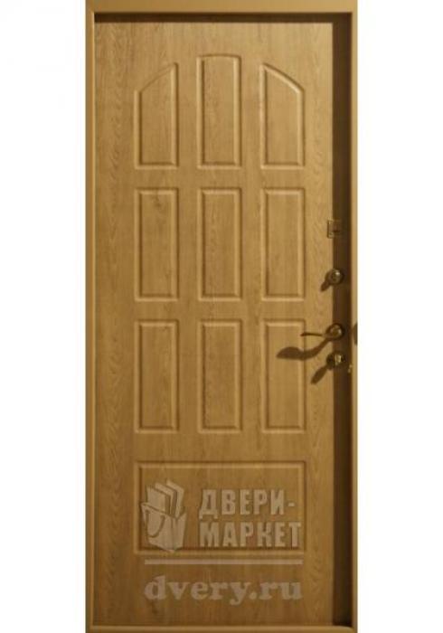 Двери-Маркет, Дверь входная металлическая порошковое напыление 75 - внутренняя сторона