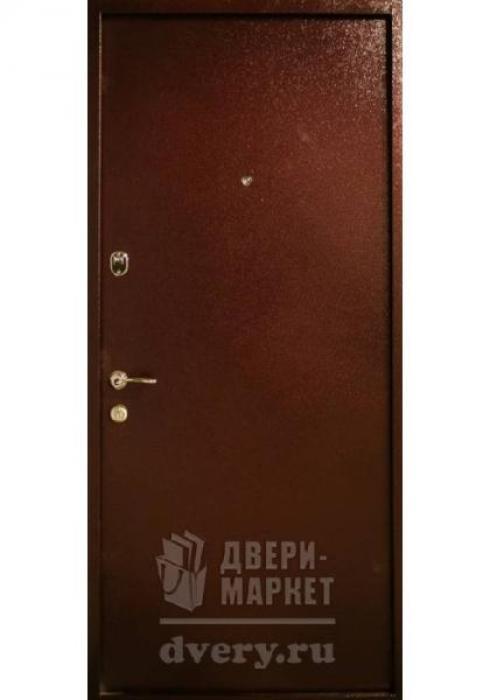 Двери-Маркет, Дверь входная металлическая порошковое напыление 85 - наружная сторона