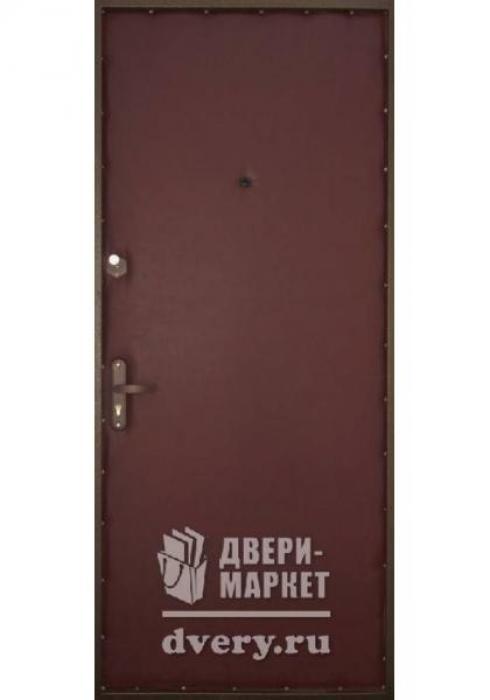 Двери-Маркет, Дверь входная металлическая порошковое напыление 94 - внутренняя сторона