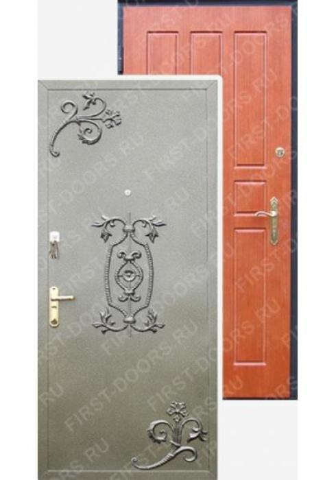 First Doors, Дверь входная металлическая с кованным орнаментом