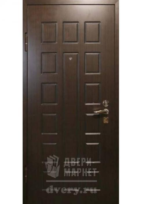 Двери-Маркет, Дверь входная металлическая шпон 10 - наружная сторона