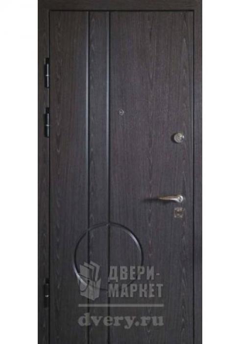 Двери-Маркет, Дверь входная металлическая шпон 12 - наружная сторона