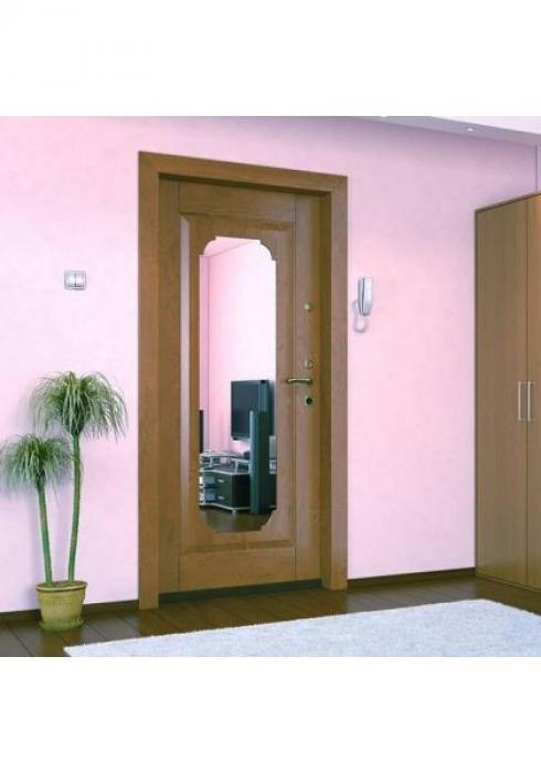 Дельта-сталь, Дверь входная с зеркалом