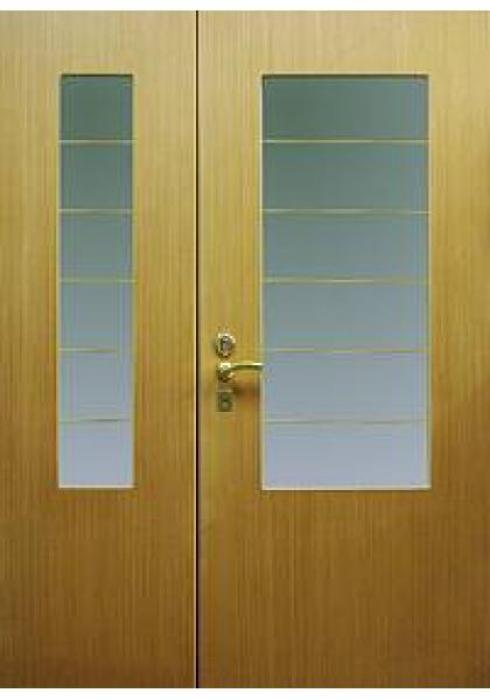 Дельта-сталь, Дверь входная стальная двухстворчатая со стеклопакетом