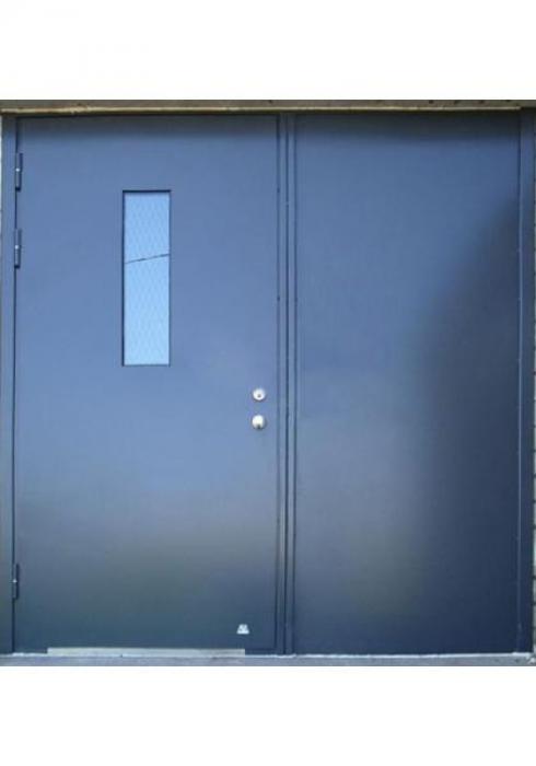 Двери Про, Двустворчатая техническая дверь с отделкой грунт-эмаль