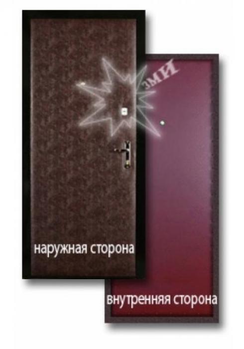 Завод Металлических Изделий, Металлическая дверь эконом 1