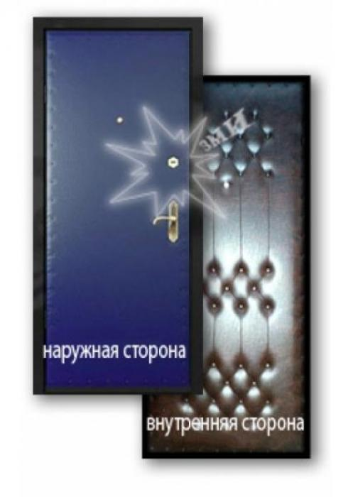 Завод Металлических Изделий, Металлическая дверь эконом 3-1