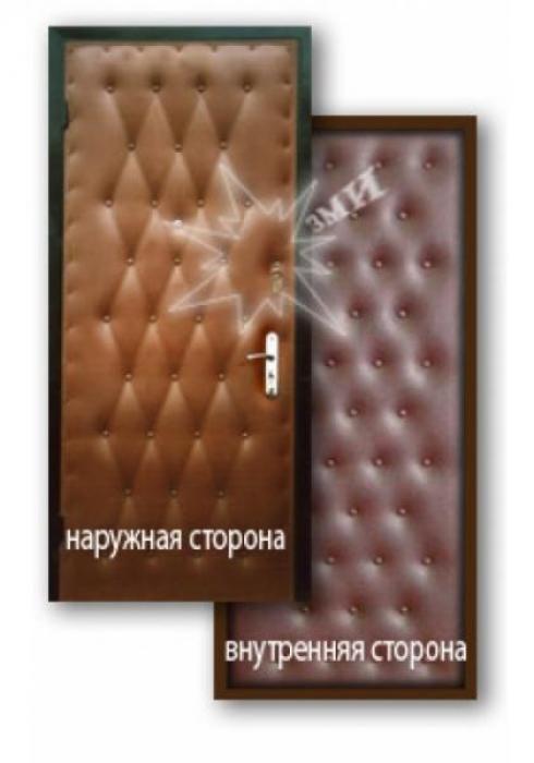 Завод Металлических Изделий, Металлическая дверь эконом 5-1