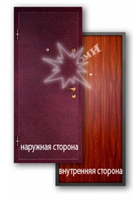Завод Металлических Изделий, Металлическая дверь ламинат 2