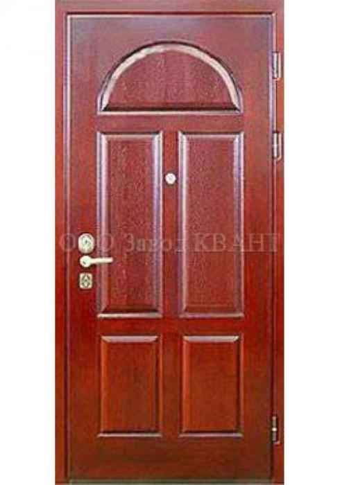 Квант, Металлическая дверь МДФ (филенчатый) Квант