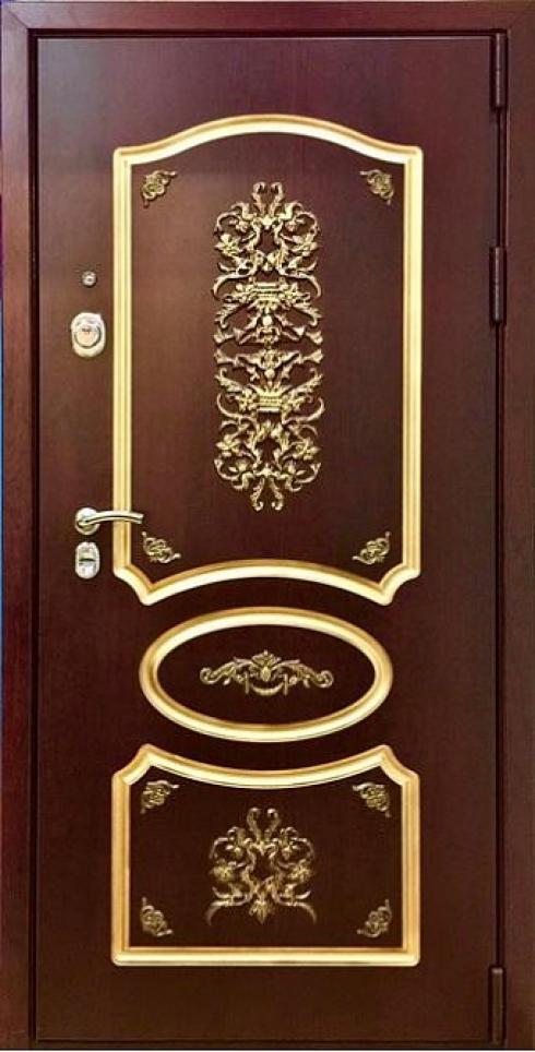 Армада, Металлическая дверь Модель А-120 с зеркалом