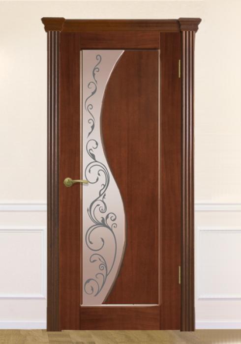 Межкомнатная дверь Элеонора сер Виктория модерн, Межкомнатная дверь Элеонора сер Виктория модерн