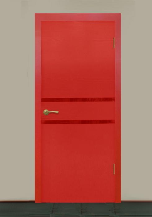 Виктория, Межкомнатная дверь Капри сер. Виктория модерн