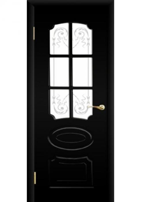 ЮККА, Межкомнатная дверь Классика Эксклюзив с решеткой