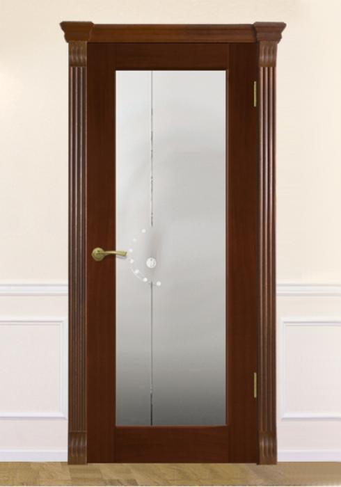 Виктория, Межкомнатная дверь Неро сер Виктория модерн