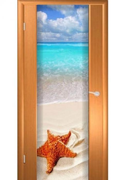 Асток, Межкомнатная дверь с рисунком ДФ 018