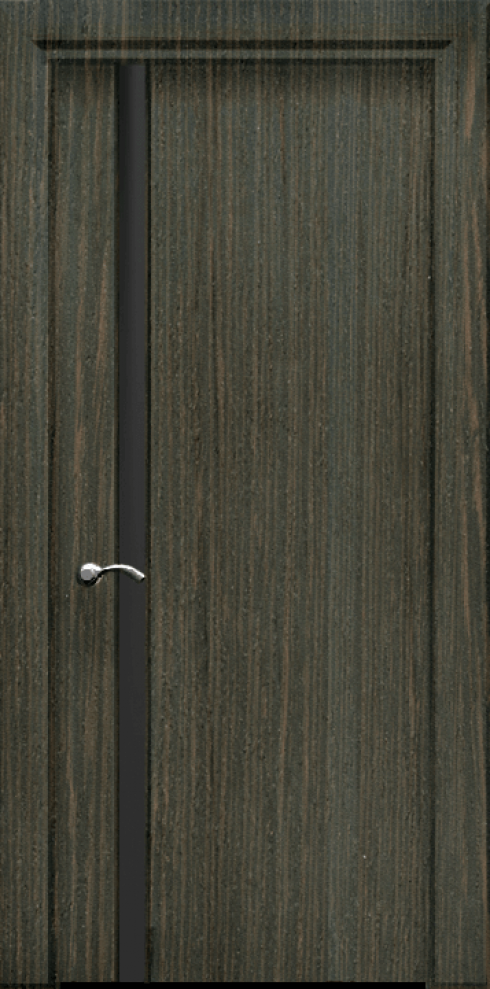 Арк-Самара, Межкомнатная дверь Танго 1-ДО с тёмным стеклом