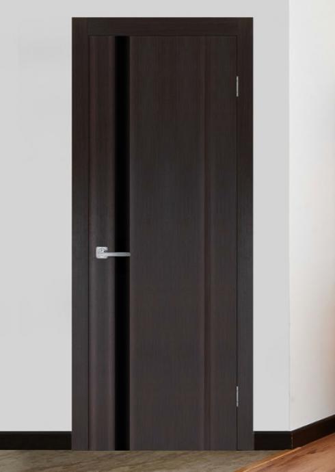Триада, Межкомнатная дверь триплекс  Меланит 1 Триада