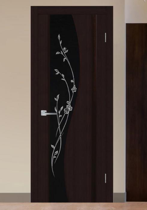 Триада, Межкомнатная дверь триплекс  Родолит Триада
