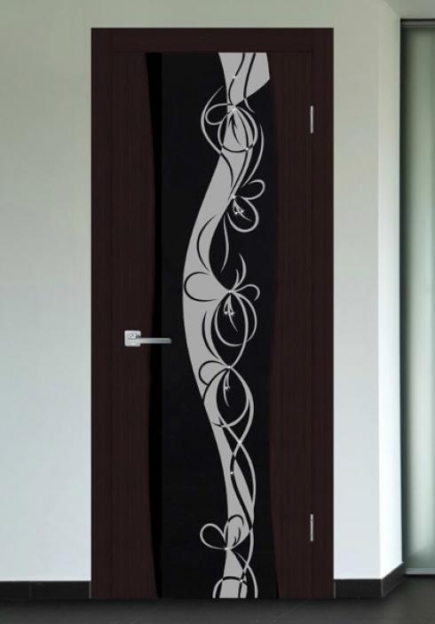 Триада, Межкомнатная дверь триплекс  Циркон Триада
