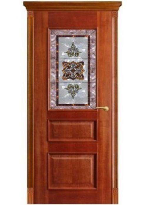 Оникс, Межкомнатная дверь Версаль витраж бордо