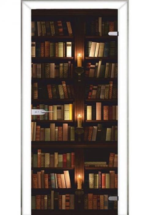 Асток, Межкомнатная стеклянная дверь с фотопечатью СДФ 053
