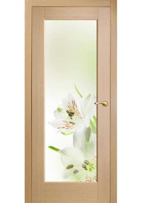 Оникс, Межкомнатные двери фотопечать Ирисы зеленые